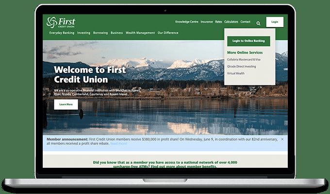 First CU Website